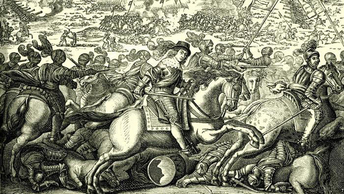 Battle at the time of the English Civil War: Battle of Cheriton 29th March 1644