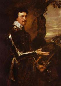 Thomas Wentworth 1st Earl of Cleveland Royalist cavalry commander at the Battle of Cropredy Bridge on 29th June 1644 in the English Civil War