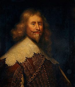Alexander Leslie, the Earl of Leven, commanding the Scottish Covenanter army at the Battle of Marston Moor on 2nd July 1644 in the English Civil War