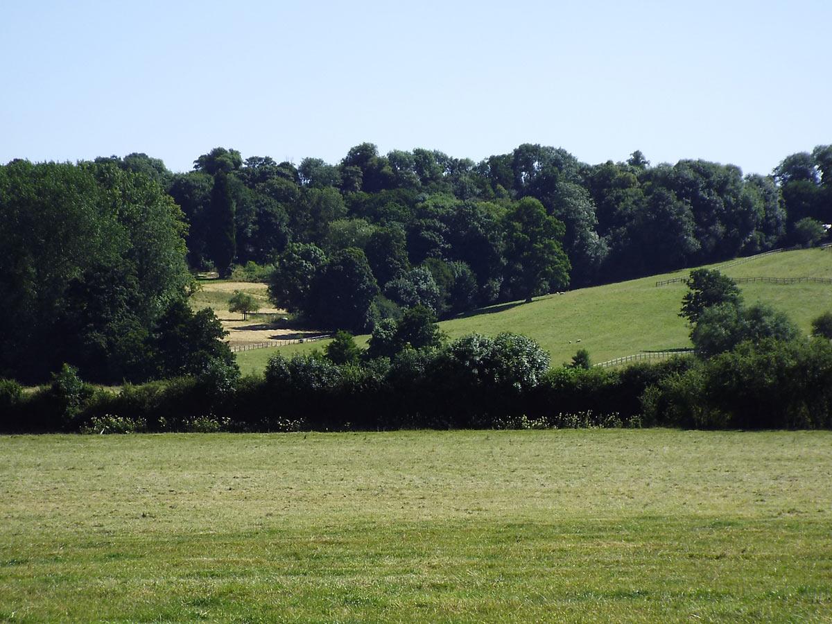 Bourton Hill: Battle of Cropredy Bridge on 29th June 1644 in the English Civil War