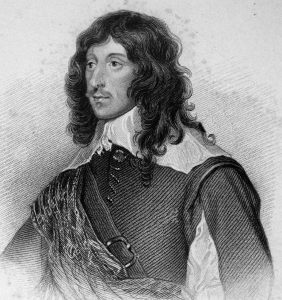 Lord George Goring commander of the Horse on the Royalist left wing: Battle of Marston Moor on 2nd July 1644 in the English Civil War: click here to buy this picture