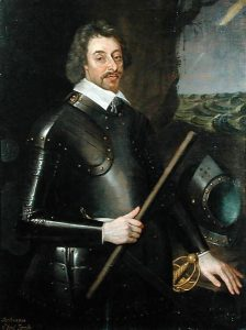 Ferdinando 2nd Lord Fairfax Parliamentary Commander at the Battle of Marston Moor on 2nd July 1644 in the English Civil War