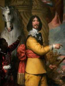 Lord Byron commander of the Royalist right wing at the Battle of Marston Moor on 2nd July 1644 in the English Civil War