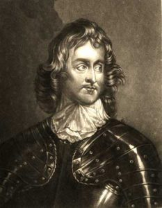 Major-General Sir John Lambert a Parliamentary Cavalry Commander on the Right Wing at the Battle of Marston Moor on 2nd July 1644 in the English Civil War