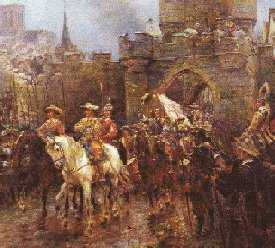 The Surrender of the City of York on 2nd July 1645