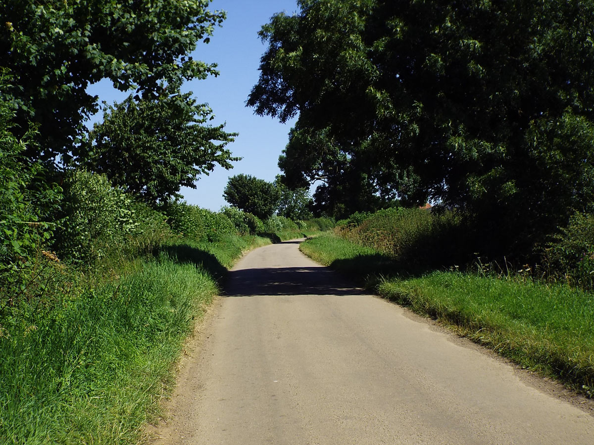 The Southam Road on Bourton Hill: Battle of Cropredy Bridge on 29th June 1644 in the English Civil War