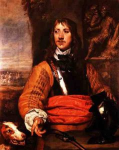 Sir Charles Lucas deputy commander of the Royalist left wing at the Battle of Marston Moor 2nd July 1644 in the English Civil War