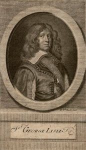 Sir George Lisle Royalist officer at the Second Battle of Newbury 27th October 1644 during the English Civil War