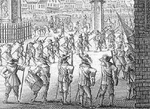 London Trained Bands: Second Battle of Newbury 27th October 1644 during the English Civil War