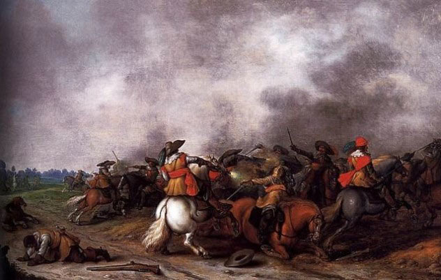 The fight on Chineham Down: Siege of Basing House 1642 to 1645 during the English Civil War