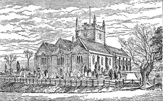 Basing Church: Siege of Basing House 1642 to 1645 during the English Civil War