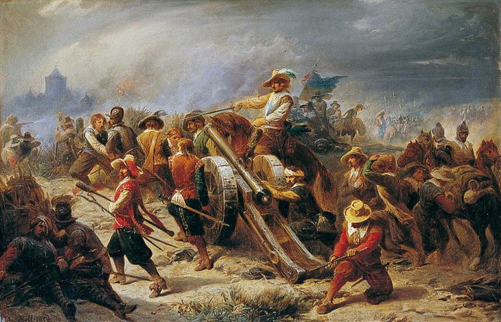 Bringing up the guns: Siege of Basing House 1642 to 1645 during the English Civil War