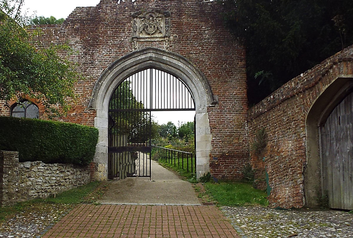 Garrison Gate of Basing House: Siege of Basing House 1642 to 1645 during the English Civil War