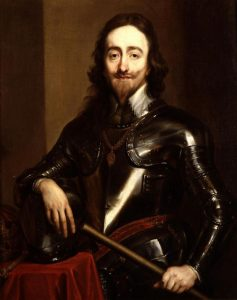 King Charles I: Battle of Naseby 14th June 1645 during the English Civil War