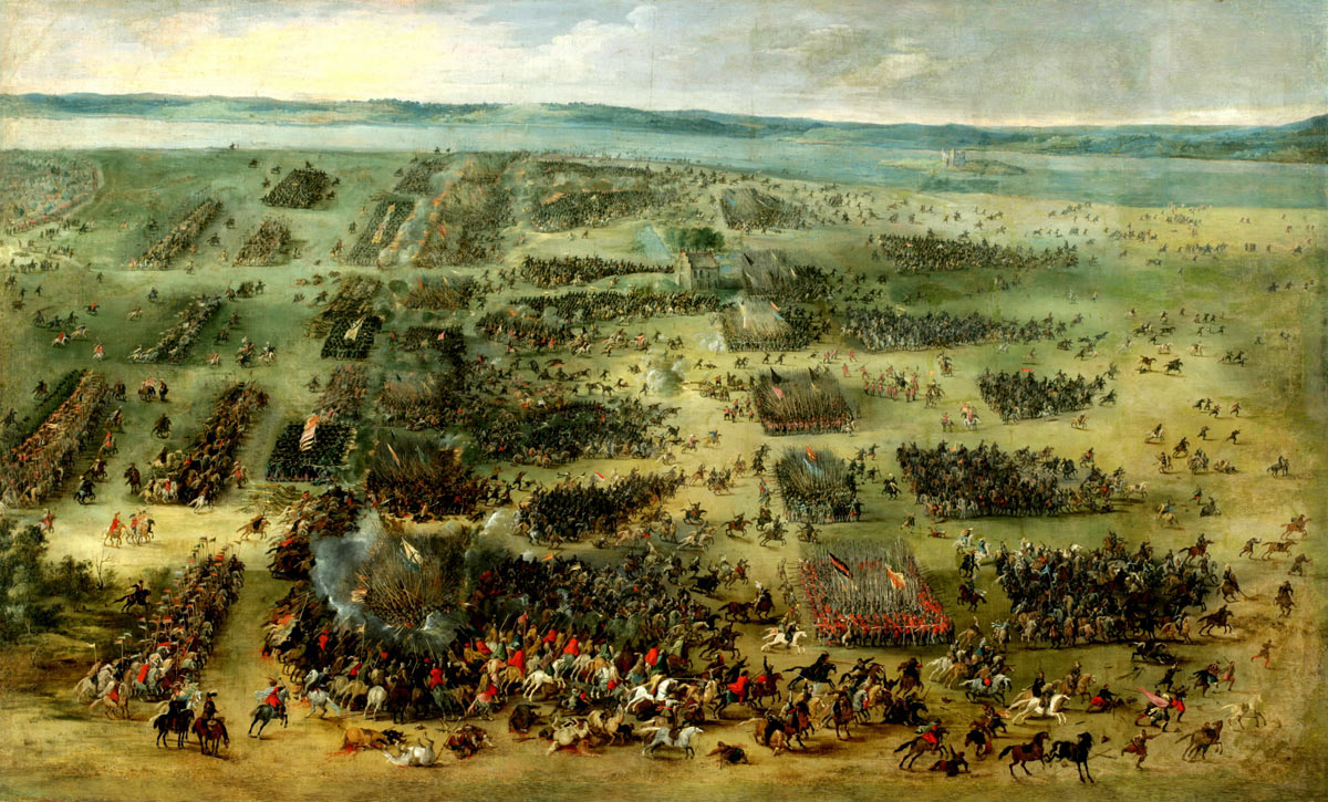 Battle of the period: Battle of Naseby 14th June 1645 during the English Civil War
