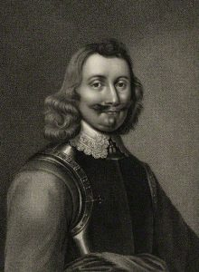 Major-General Philip Skippon commander of the Parliamentary Foot at the Battle of Naseby 14th June 1645 during the English Civil War