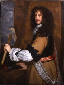 Prince Rupert of the Rhine the Royalist commander at the Battle of Naseby 14th June 1645 during the English Civil War