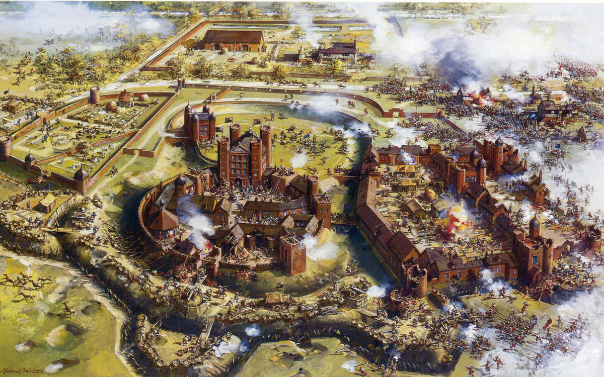 The Storming of Basing House on 14th October 1645: Siege of Basing House 1642 to 1645 during the English Civil War