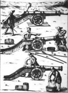 Heavy guns of the English Civil War: Siege of Basing House 1642 to 1645 during the English Civil War