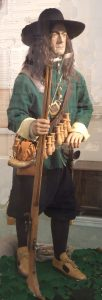 Musketeer of Colonel John Hampden's Regiment of Foot: attle of Chalgrove 18th June 1643 in the English Civil War: Thame Town Museum