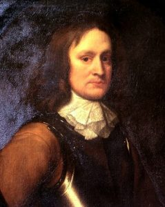 Colonel John Hampden second in command in the Earl of Essex's Parliamentary army killed at the Battle of Chalgrove 18th June 1643 in the English Civil War
