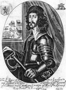 Sir Thomas Fairfax commander of the Parliamentary right wing at the Battle of Adwalton Moor 30th June 1643 during the English Civil War: click here to buy this picture