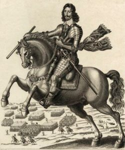 Sir Thomas Fairfax Parliamentary Commander at the Battle of Seacroft Moor 30th March 1643 in the English Civil War