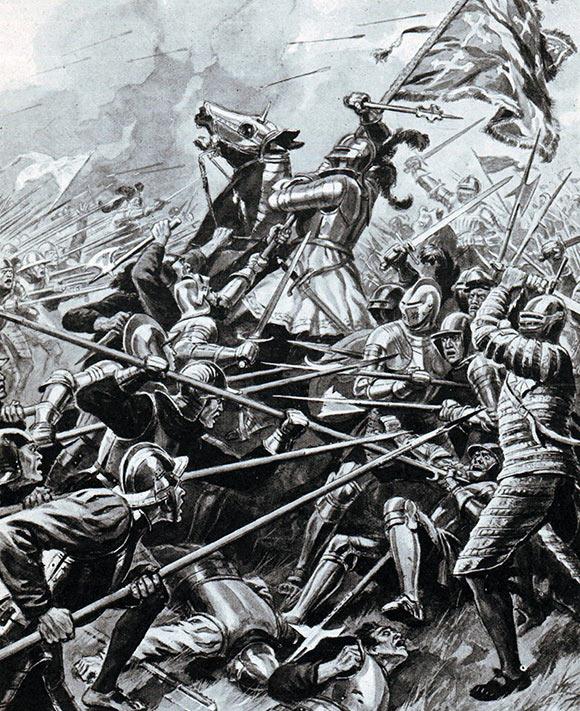 Battle of Flodden on 9th September 1513
