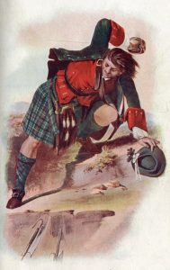 Highlander: Battle of Culloden 16th April 1746 in the Jacobite Rebellion