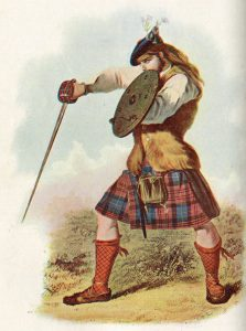 Highlander: Battle of Falkirk 17th January 1746 in the Jacobite Rebellion