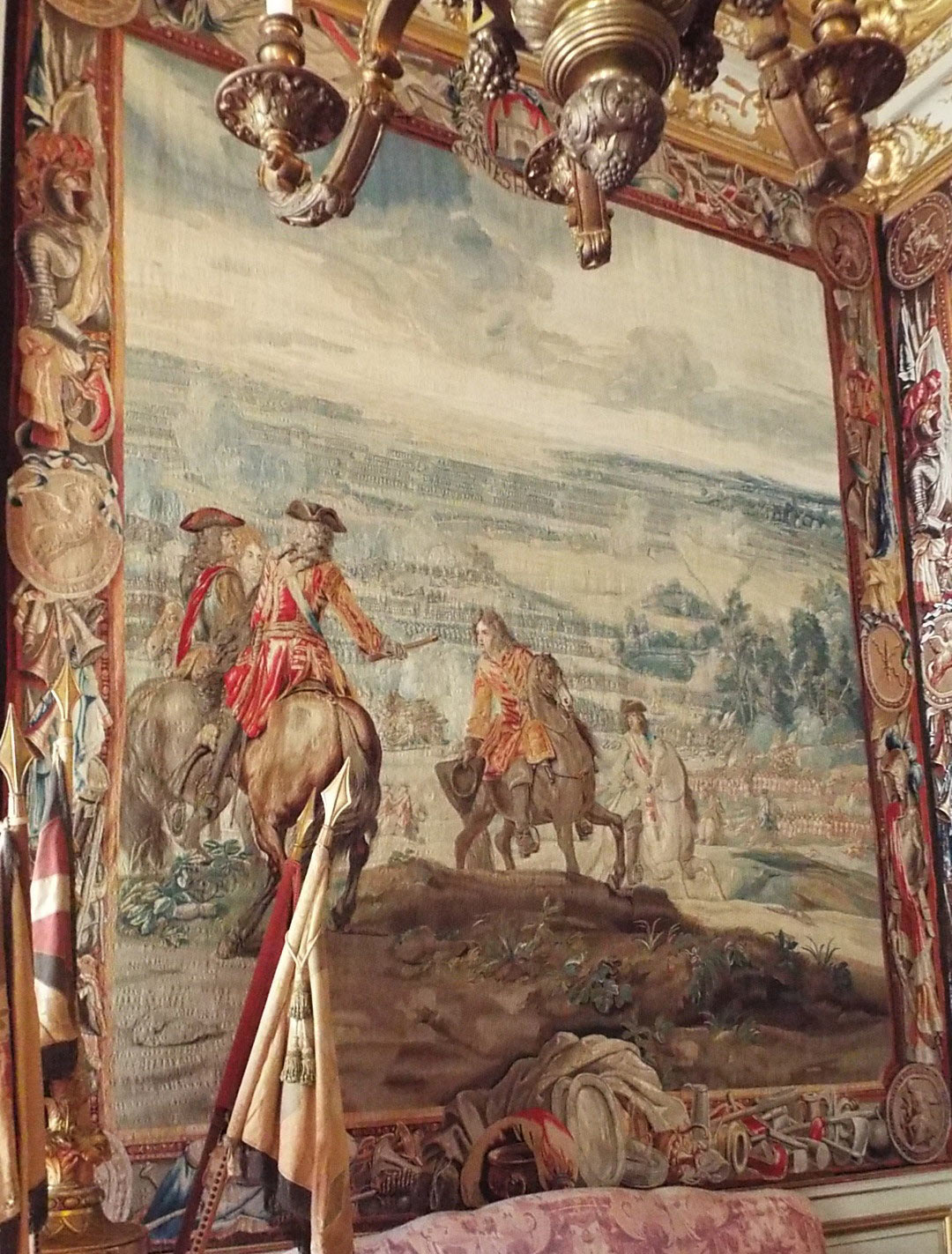 Battle of Malplaquet 11th September 1709 War of the Spanish Succession: Blenheim Palace Tapestry