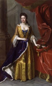 Queen Anne: Battle of Ramillies 12th May 1706 in the War of the Spanish Succession