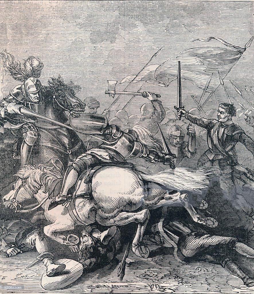 Battle of Flodden on 9th September 1513: buy this print