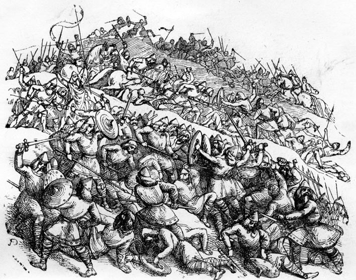 The Battle of Ashdown: King Alfred's defeat of the Danes in 871