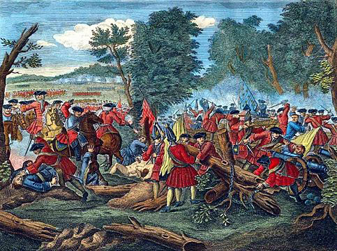 Battle of Malplaquet 11th September 1709 War of the Spanish Succession: click here to buy this picture