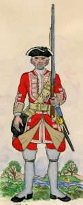 Howard's 3rd Old Buffs: Battle of Falkirk 17th January 1746 in the Jacobite Rebellion: Mackenzie after Representation of Cloathing