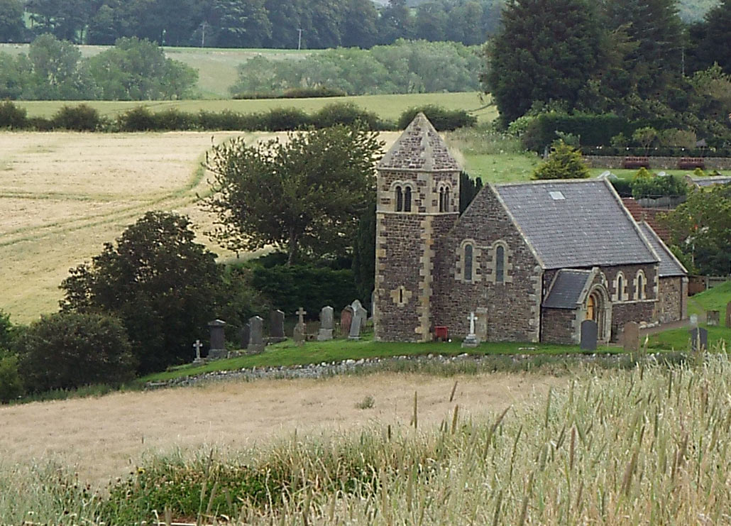 Branxton Church: Battle of Flodden 9th September 1513