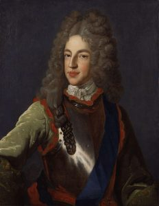 Prince James Francis Edward Stuart, the Old Pretender: Battle of Malplaquet 11th September 1709 War of the Spanish Succession: picture by Alexis Simon Belle
