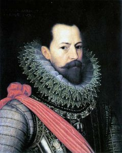 Alexander Farnese, Duke of Parma, Spanish commander in the Netherlands who failed to co-operate with the Duke of Medina Sidonia, commander of the Armada: Spanish Armada June to September 1588