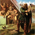 King Alfred in the Danish camp; click here to buy this picture