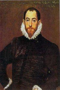 Captain Alonso de Leiva, captain of La Rata Encoronada, shipwrecked three times on the coast of Western Ireland, finally dying: Spanish Armada June to September 1588