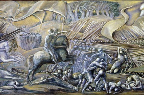The Battle of Flodden on 9th September 1513 by Sir Edward Burne-Jones