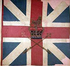 Colour Barrell's King's Own Royal Regiment: Battle of Culloden 16th April 1746 in the Jacobite Rebellion