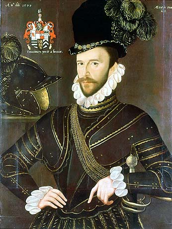 Sir Francis Drake, one of Lord Howard's commanders against the Armada and the captain of the Revenge: Spanish Armada June to September 1588