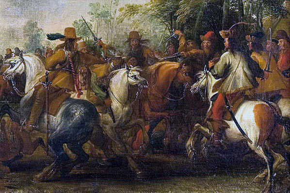 Battle of Chalgrove 18th June 1643 in the English Civil War