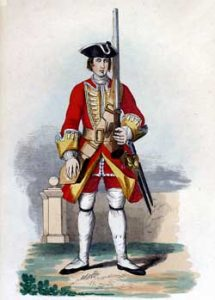 Colmondeley's 34th Regiment: Battle of Culloden 16th April 1746 in the Jacobite Rebellion