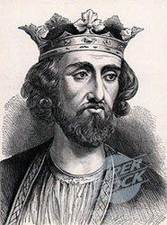Edward I, King of England, Maleus Scotorum, and father of Edward II, 1239 to 1307: Battle of Bannockburn 23rd and 24th June 1314