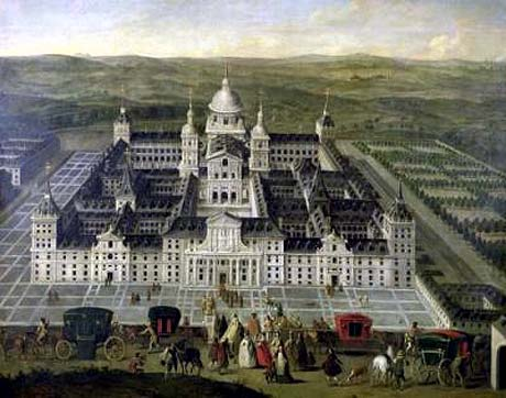 Palace of El Escorial; where Philip II, King of Spain, planned the invasion of England by the Armada: Spanish Armada June to September 1588