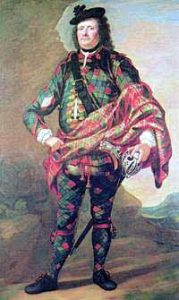Highland Officer: Battle of Falkirk 17th January 1746 in the Jacobite Rebellion