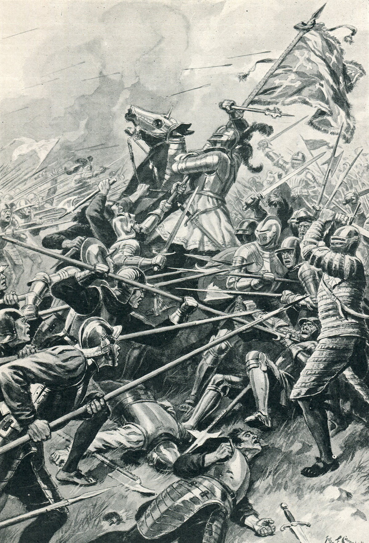 Battle of Flodden on 9th September 1513